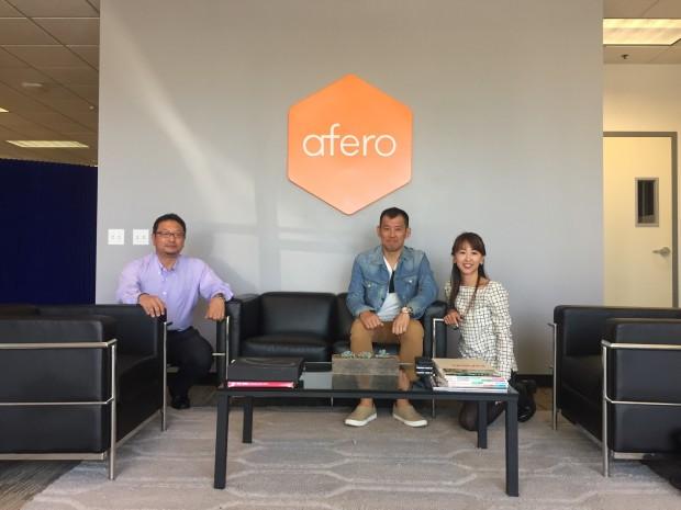 """シリコンバレー発 IoT Platform """"Afero""""視察レポート"""